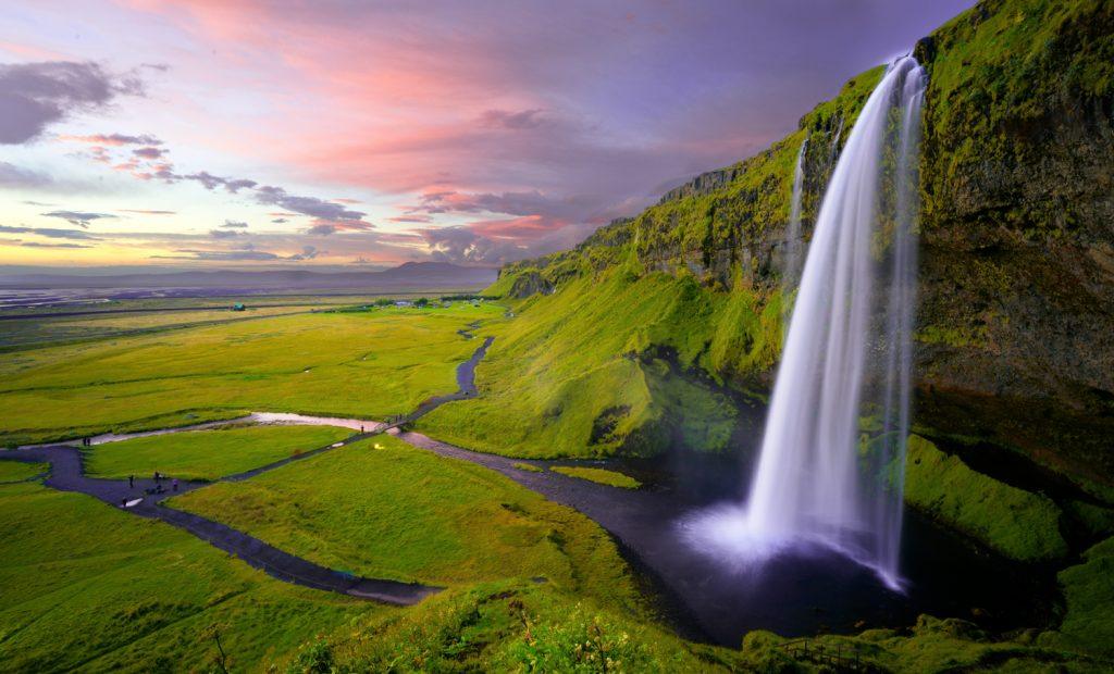 Iceland road trip budget - seljalandsfoss waterfall