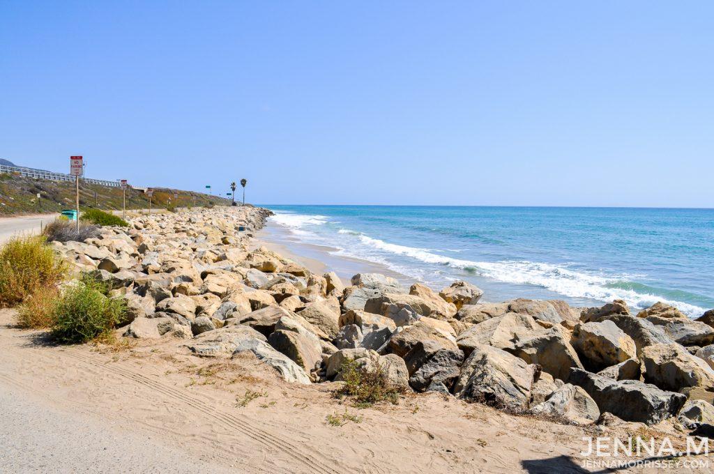 Pacific Coast Highway Ocean Scenery