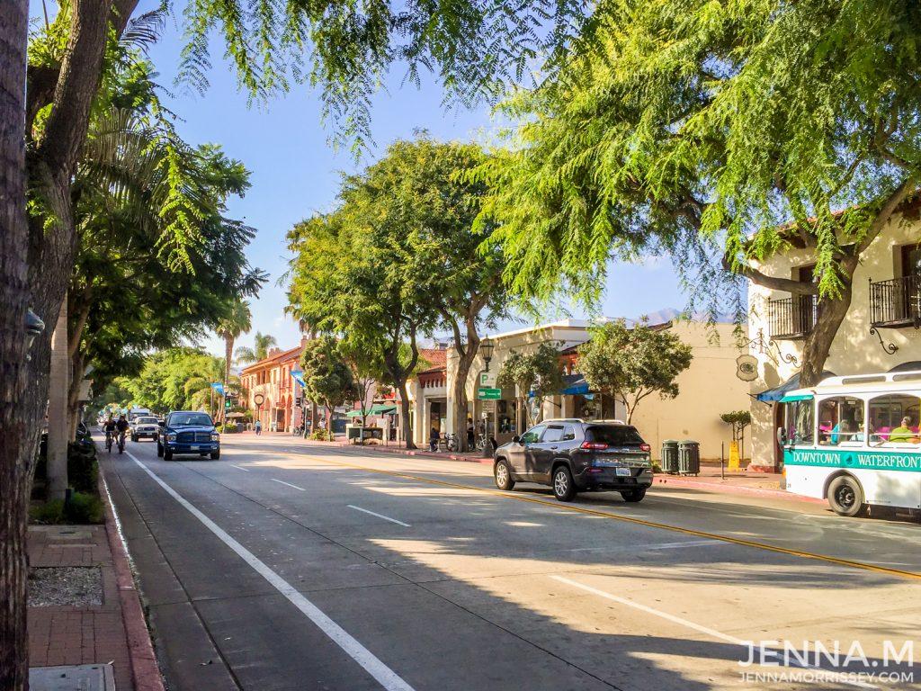Santa Barbara Downtown Street