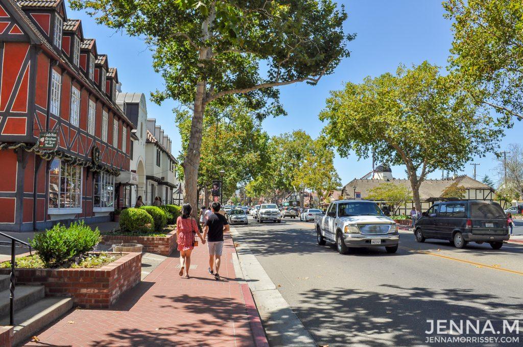 Solvang Street California