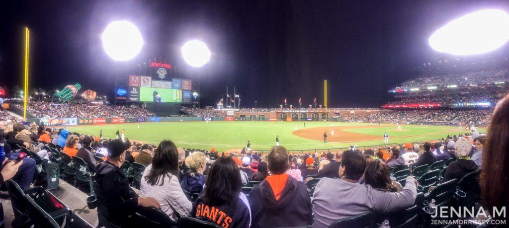 Baseball Game San Francisco