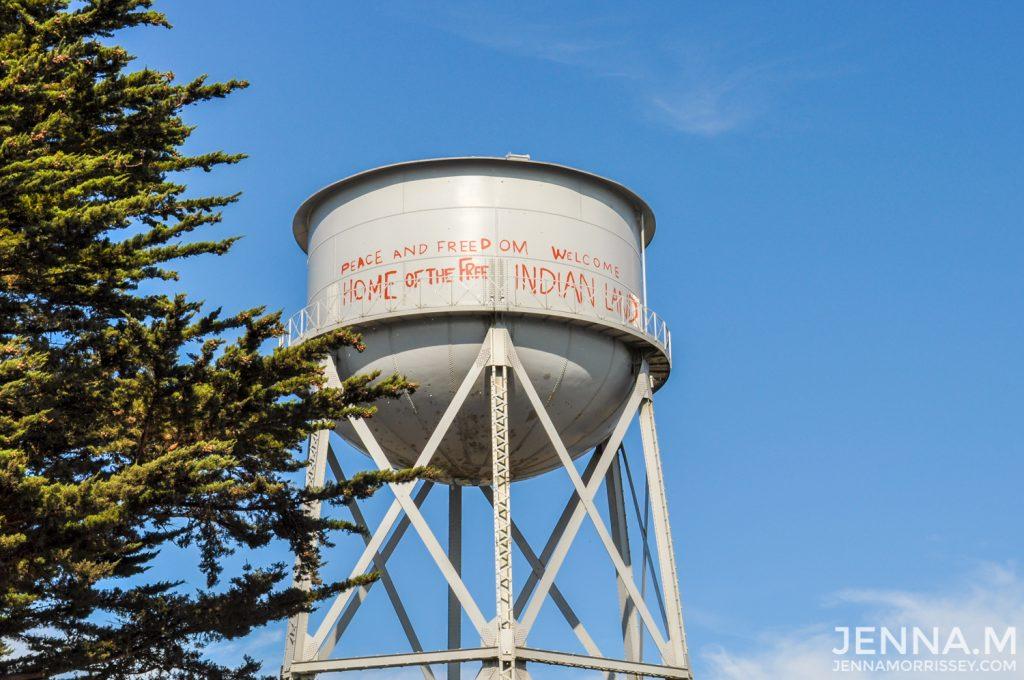 Alcatraz Island Water Tower