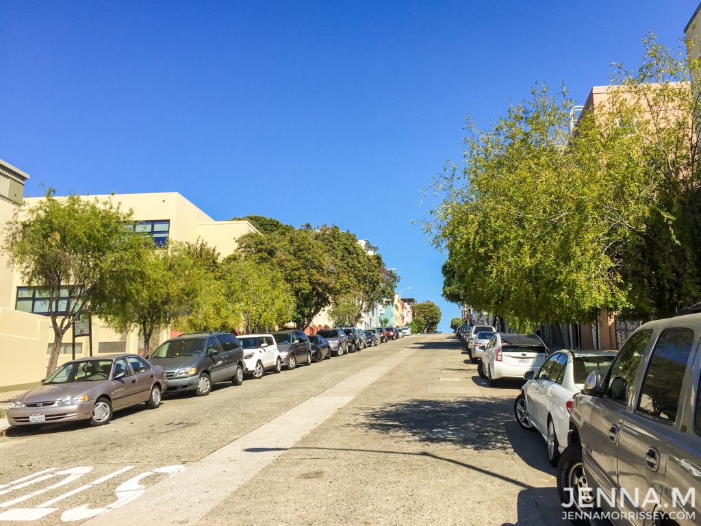 Roads in San Francisco