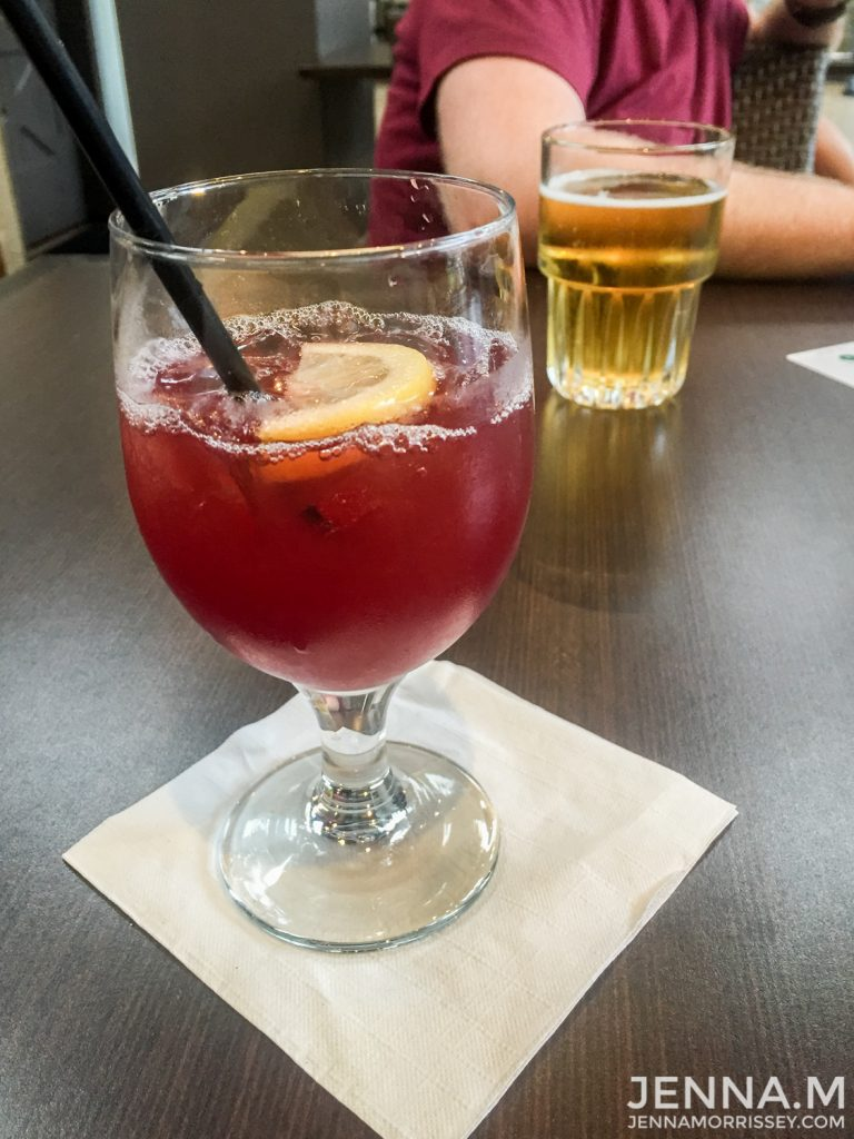Embassy Suites Happy Hour Sangria