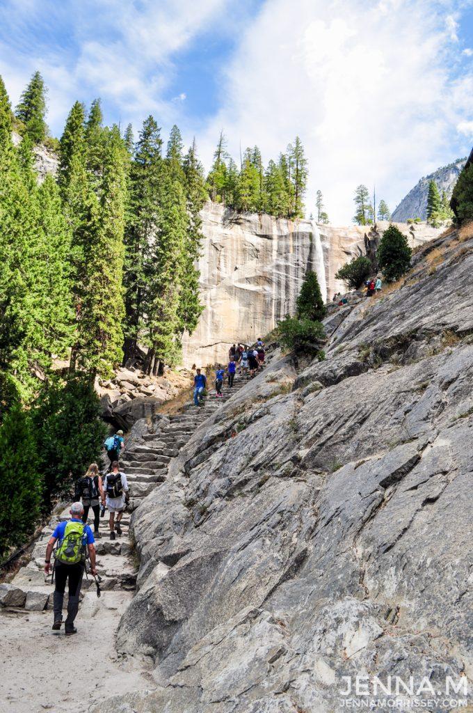 Vernal Falls Hike Yosemite
