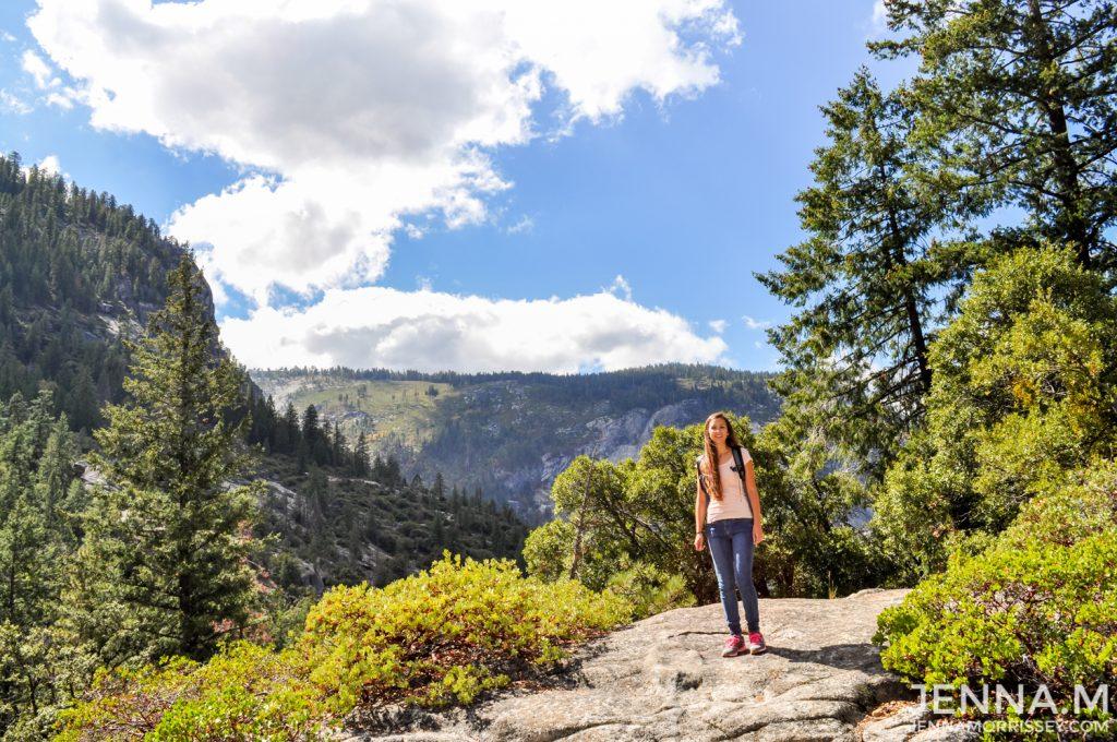 Nevada Falls Hike Yosemite