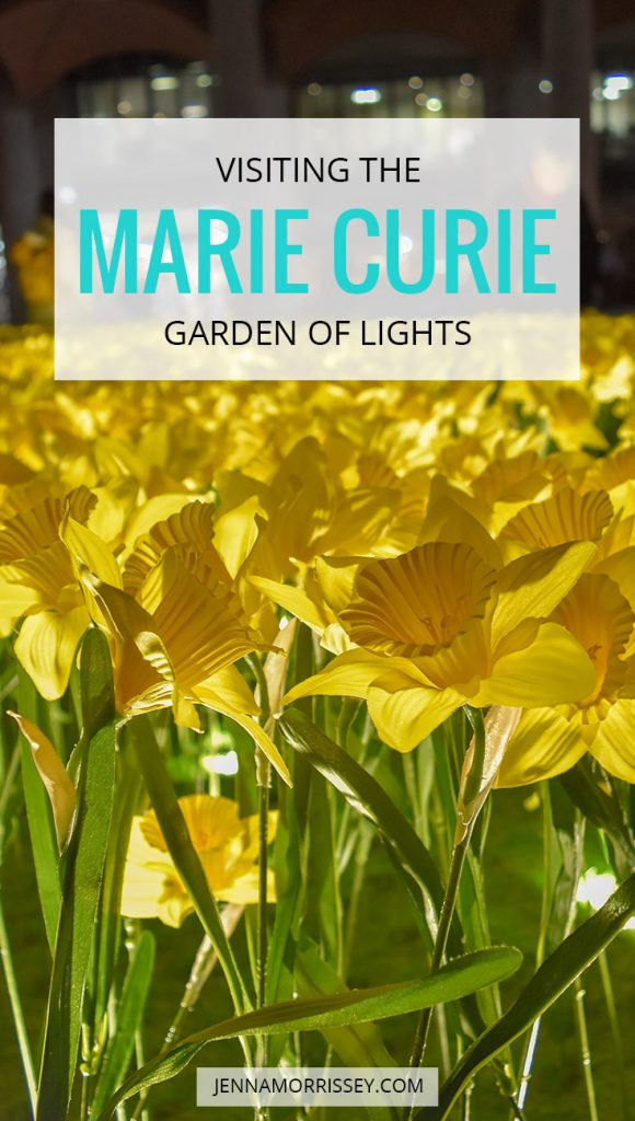 MARIE CURIE GARDEN OF LIGHTS