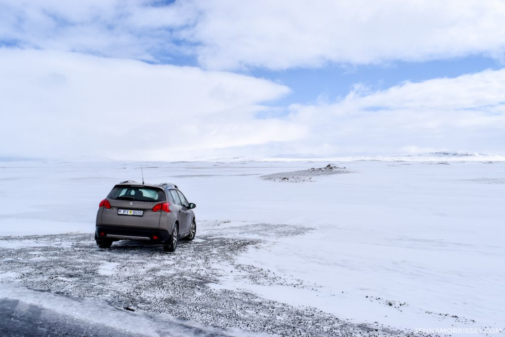 iceland road trip expenses - care hire