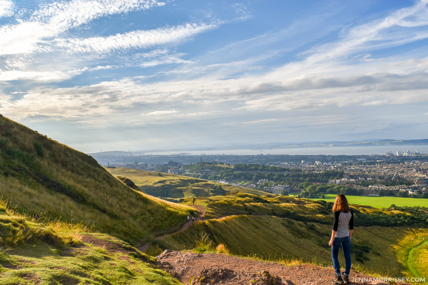 hiking arthur's seat edinburgh