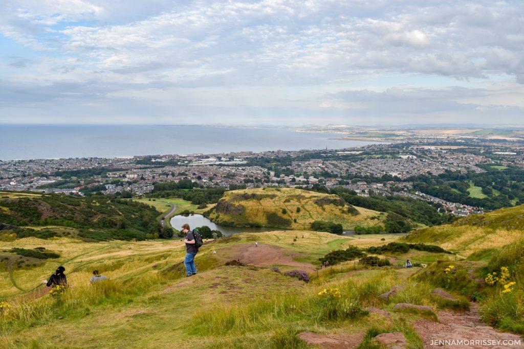 hiking arthur's seat Edinburgh