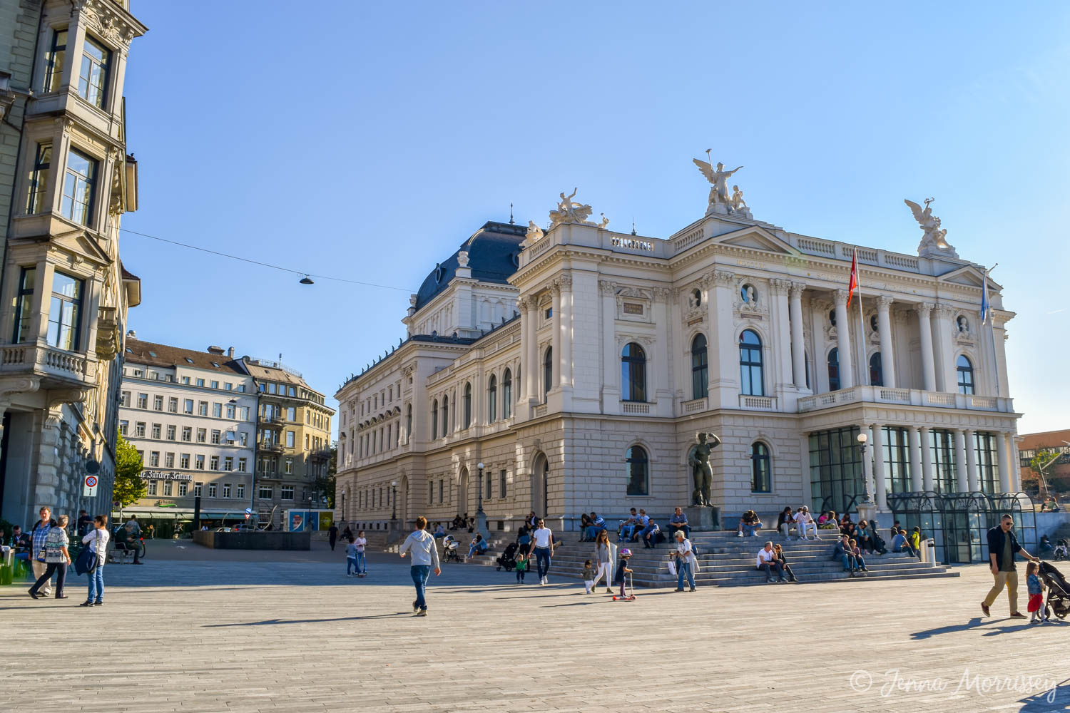 A Zurich Walking Tour